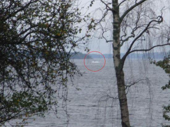 Швеция опубликовала фото неопознанной подлодки, её поиски продолжаются