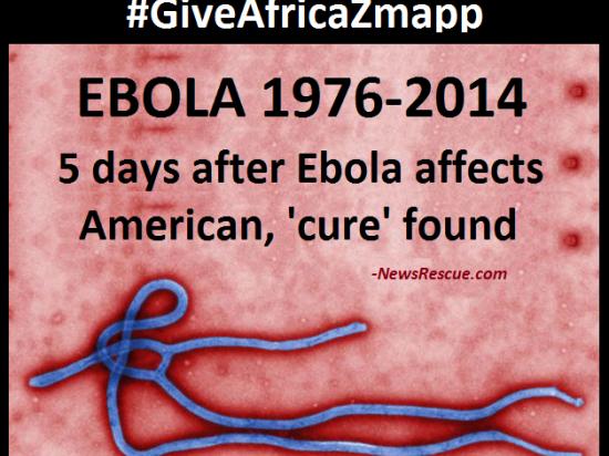 Лихорадку Эбола вылечил новый препарат Zmapp