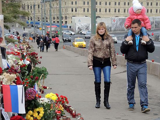 Власти Москвы третий раз ликвидировали народный мемориал Немцова - Цензор.НЕТ 4340