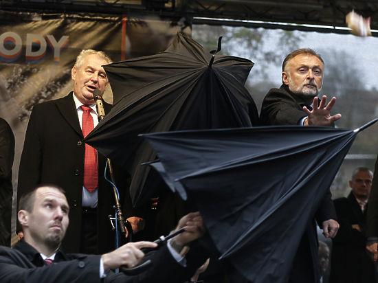 """""""Президент Земан представляет собой угрозу нацбезопасности"""": правительство Чехии не намерено проводить референдум по выходу из ЕС и НАТО - Цензор.НЕТ 703"""