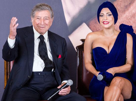 Леди Гага и Тони Беннетт «дали джазу»