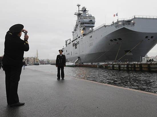 СМИ: Франция боится, что российские моряки угонят