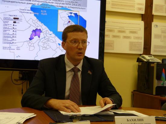 Алексей Бахилин: на работу Центризбиркома Карелии жалоб не поступало