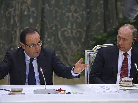 Президент Франции Олланд: передать «Мистраль» России не позволяет ситуация