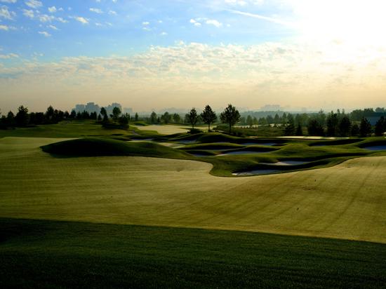 Сколково стало столицей гольфа