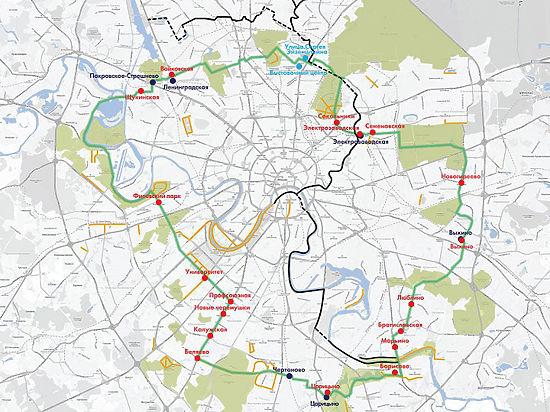 В Москве создадут огромное велокольцо