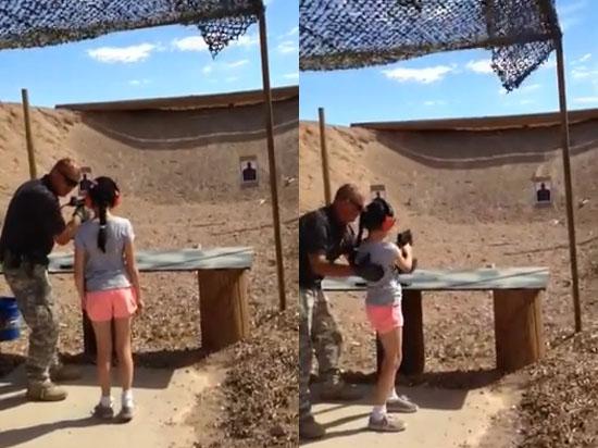 Аризонская трагедия: 9-летняя американка убила инструктора по стрельбе из пистолета-пулемета