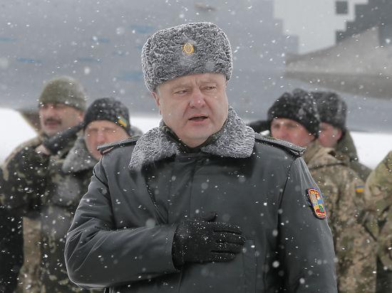Порошенко отбыл на фронт: в Дебальцево украинские военные выходят со всем вооружением