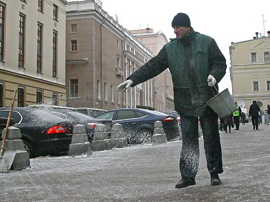 В России будут применять новые антигололедные реагенты