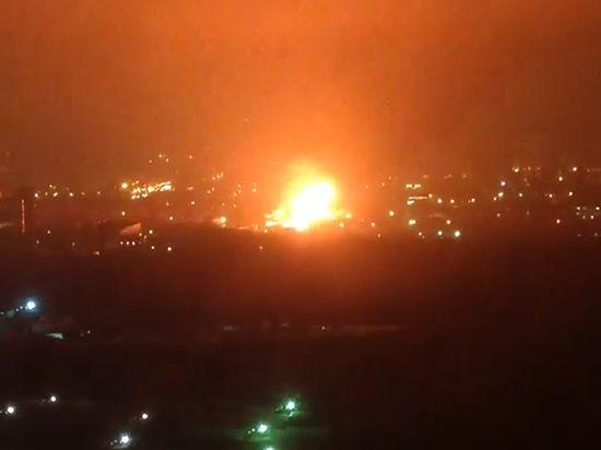 Два крупнейших пожара произошло в Москве: со взрывом и обрушением