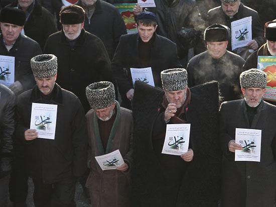Кадыров на митинге в Грозном: