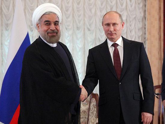 Путин встретился с Роухани: Россия продолжит сотрудничество с Ираном «вопреки турбулентностям»