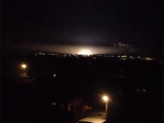 Вспышка, перепугавшая весь Курск, оказалась электрическим замыканием