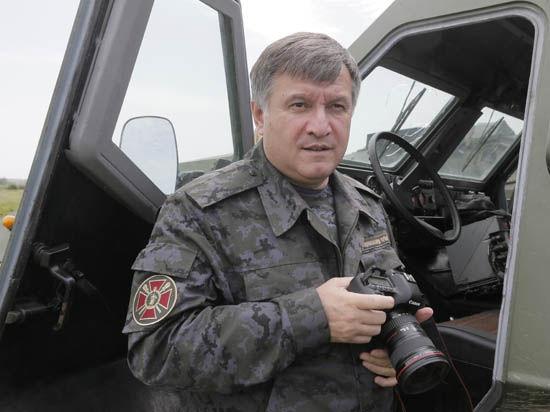 Аваков во время перемирия: