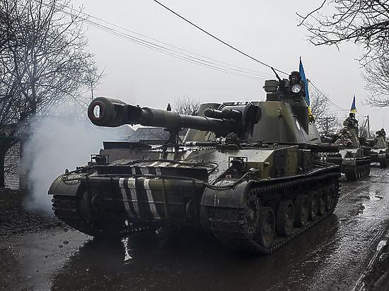Украинские военные ведут прицельный огонь из оружия, которое якобы уже отвели: «Блицкрига в Донбассе не будет»