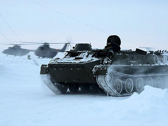 Арктическую нефть будет охранять армия России