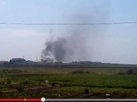 В Донецке идет бой за аэропорт. Истребители и десант выбивают ополченцев ДНР