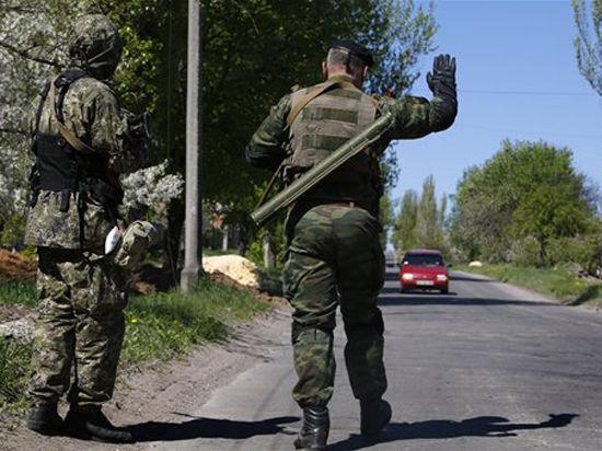 Украинский город Константиновка перешел под контроль протестующих