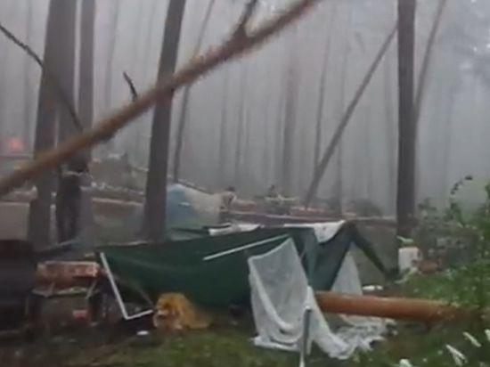 На Ильменском фестивале, где произошла трагедия во время урагана, еще остаются люди