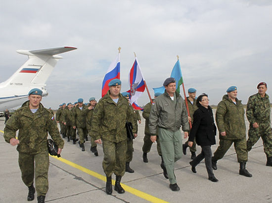 Тульские десантники высадились с военной техникой в Восточной Европе