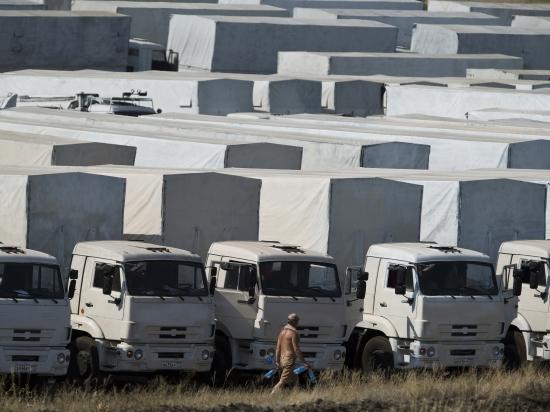 Киев не хочет гарантировать безопасность гуманитарному конвою