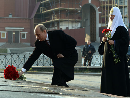 В День народного единства Путин вновь обратился к любимой теме — урокам истории