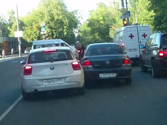 Москвич, которого переехал владелец BMW: «Он следил за мной около километра»