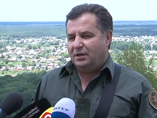 Новый МО Украины Полторак захватил на юго-севере Луганска российский БТР с формулярами