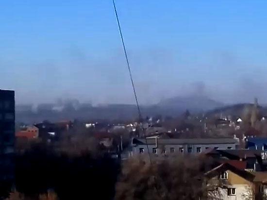 В Донецке весь день шли бои,  четверо погибли