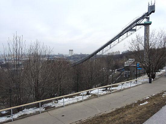 Открытие смотровой площадки на Воробьевых горах отложили