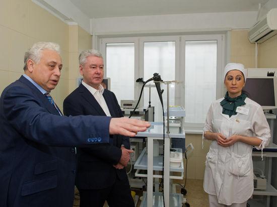 Больницы модернизируют на благо москвичей