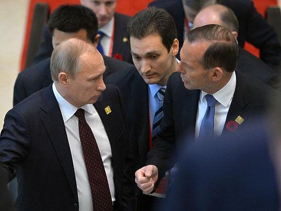 Угрозы Эббота в адрес Путина попали в словарь