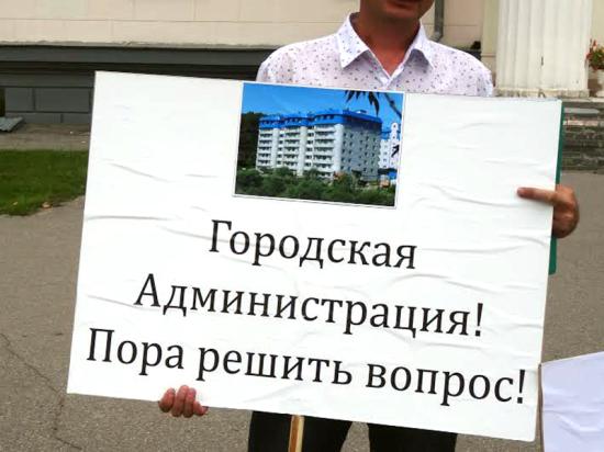 Повторный пикет против сноса нового многоквартирного дома состоялся в Чебоксарах