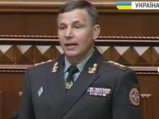 Министр обороны Украины: