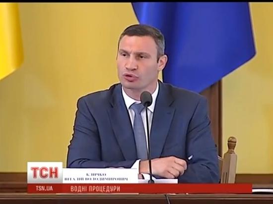 Новый перл Кличко: