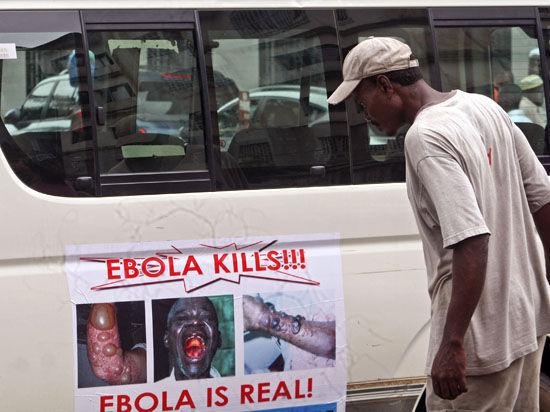 Первый случай заражения Эболой в Европе выявлен у пациента, который  не бывал в Африке