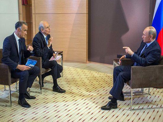 22 лучшие реплики Путина из интервью французам: