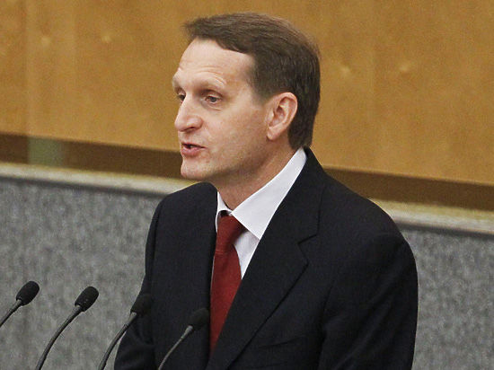 Пикировка спикеров: Чалый попросил Нарышкина «отложить церемониальные обеды» в Крыму