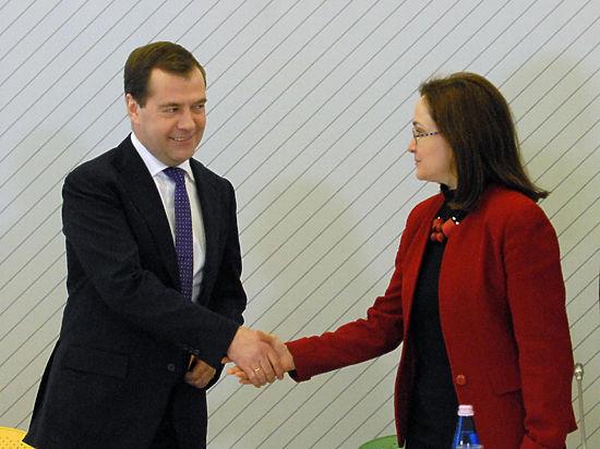 Медведев и Набиуллина ответят за антикризисный план