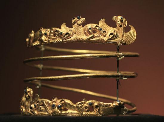 Переговоры о судьбе скифского золота засекретили
