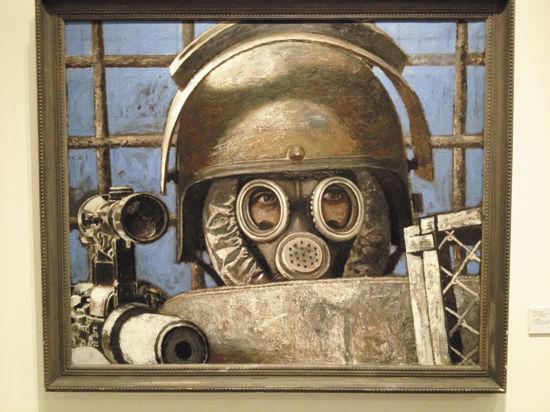На Гоголевском, 10, открылась выставка студии художников МВД