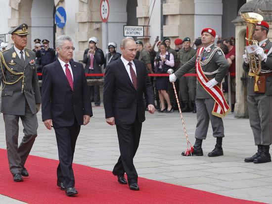 Путин присоединил Австрию к «Южному потоку»
