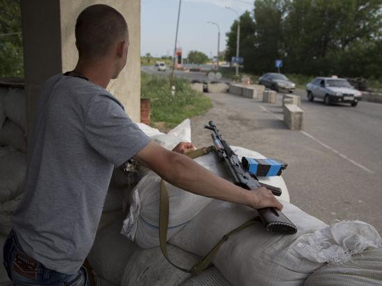 Ополченцы Славянска блокировали подступы к Донецку