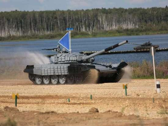 Россия победила Китай на чемпионате мира по танковому биатлону
