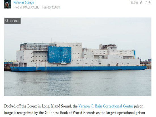 Самая большая плавучая тюрьма в мире пришвартовалась в Книге рекордов Гиннеса