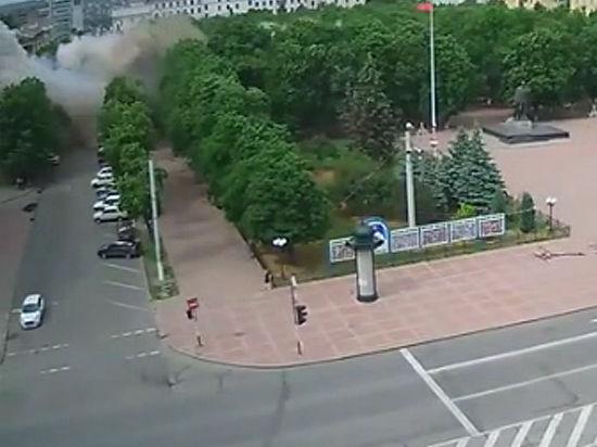 ОБСЕ признала, что администрацию в Луганске бомбили с воздуха запрещенными бомбами