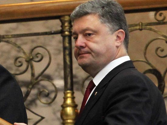 Порошенко выступил перед украинцами: «Мы не можем уважать выборы на Донбассе»