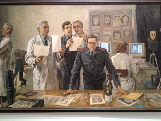 В Москве открылась выставка студии художников МВД