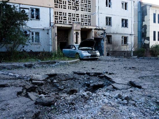 Украина обстреляла