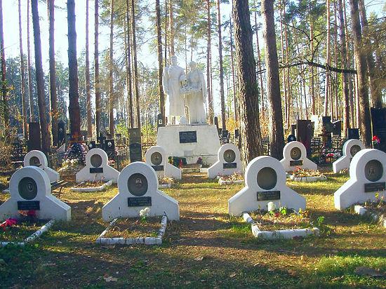В Монино развернулись «боевые действия» за военное кладбище